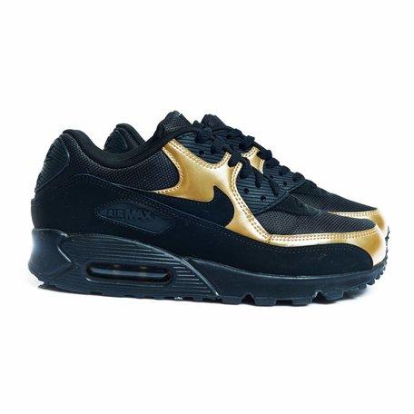 Nike air max zwart/goud