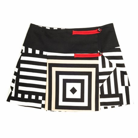 Gianfranco Ferre, 'Mondrian' wrap skirt