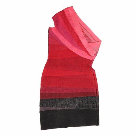 Hervé Léger, Roze jurk, maat S