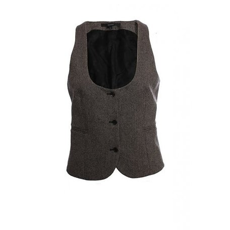 Gucci, Beige black vest, size M