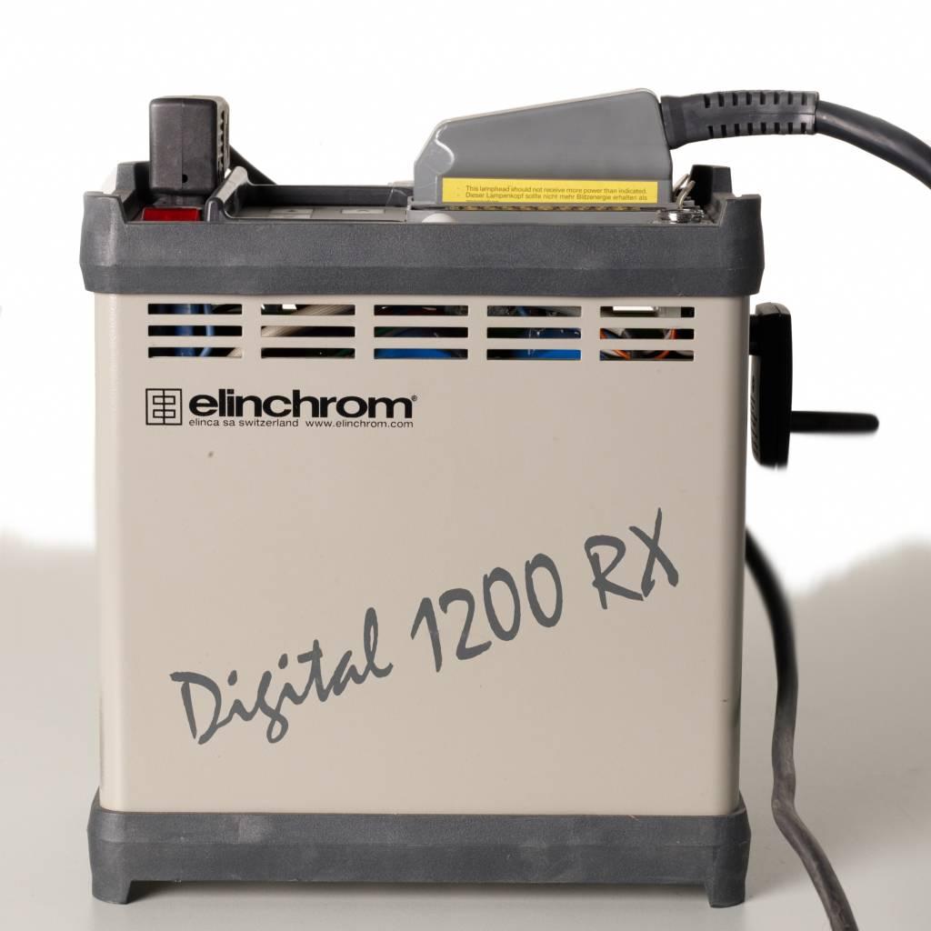 Elinchrom Generator mit Bacht Fresnelspot SSP80