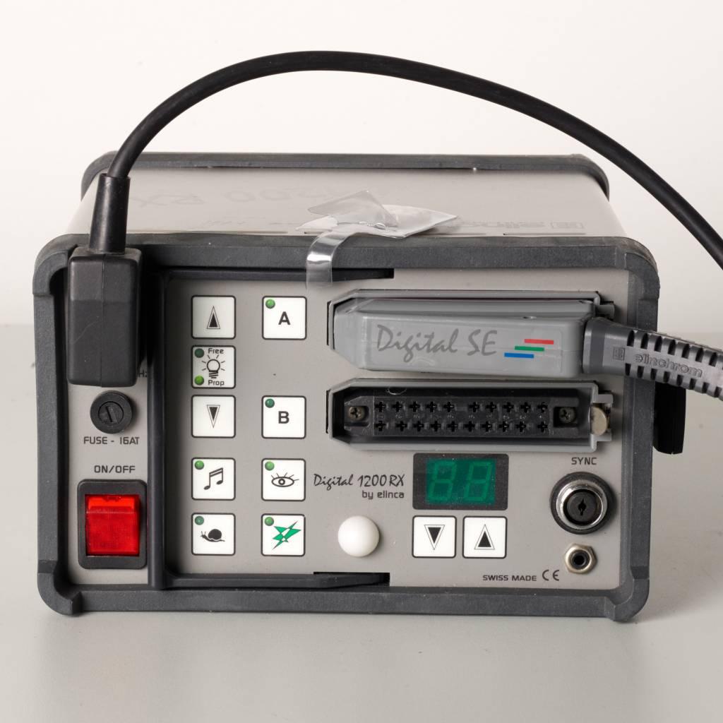 Fresnelspot SSP80 mit Elinchrom Generator