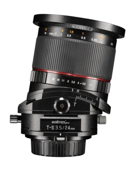 Walimex Weitwinkel 24mm/3,5 T-S DSLR Sony E