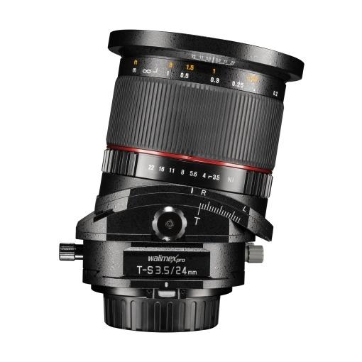 Walimex Weitwinkel 24mm/3,5 T-S DSLR Nikon F - Copy