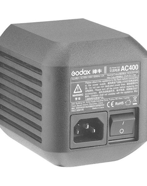 Godox AC400 externe Stromversorgung