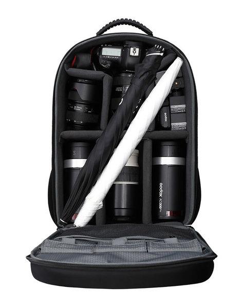 Godox AD300Pro Kit im Rucksack