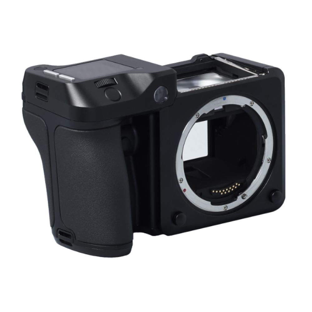 Digitale Mittelformat-Kamera mit Prismensucher
