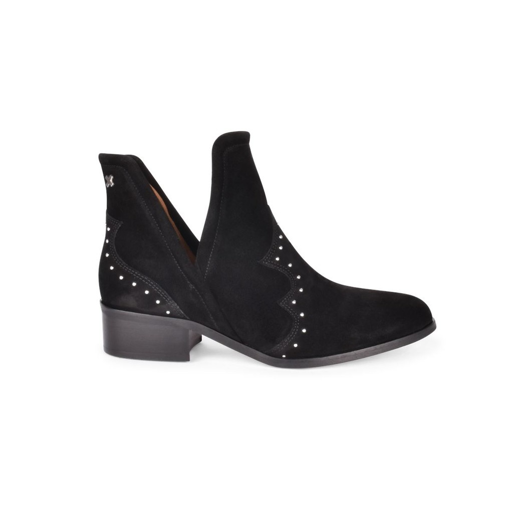OPEN STUD BOOTIE - BELOW THE ANKLE BOOT-1