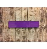 Paarse kentekenplaat met naam