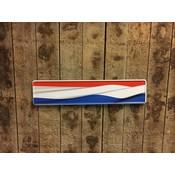 Kentekenplaat Nederlandse vlag met naam