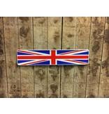 Kentekenplaat Great Britain vlag