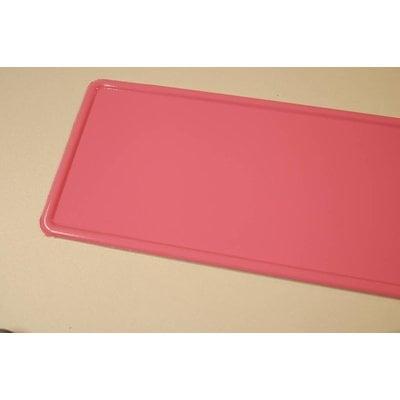 Roze kentekenplaat met naam