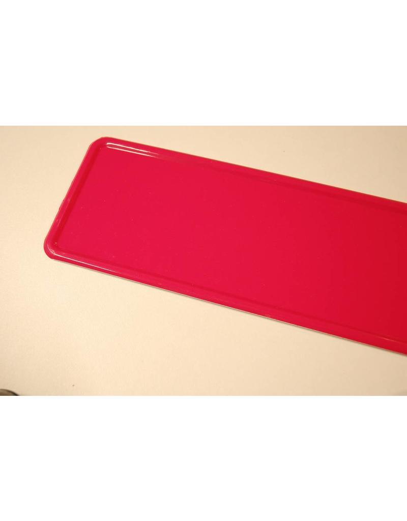 Midi Kentekenplaat Donker Roze 34x9