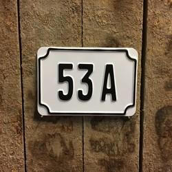 Huisnummers & straatnaamborden