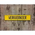 Gele Kentekenplaat met naam