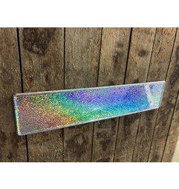 Kentekenplaat Zilver Glitter / Flake