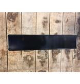 Zwart reflectie kentekenplaat met naam