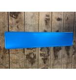Kentekenplaat blauw reflectie