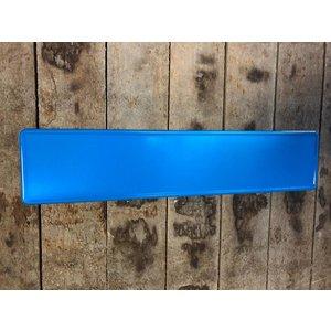 Blauw reflectie kentekenplaat met naam