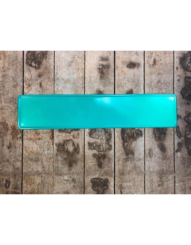Groen reflectie kentekenplaat met naam