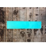 Kentekenplaat Turquoise
