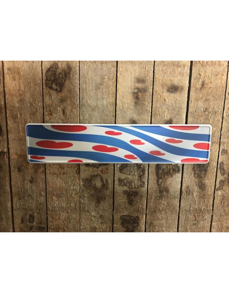 kentekenplaat friese vlag