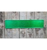 Kentekenplaat groen Glitter