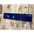 Navy / Donker Blauw kentekenplaat met naam