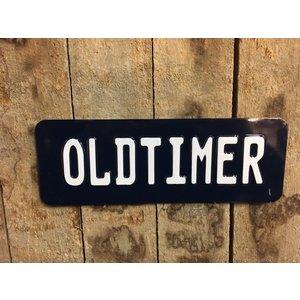 Oldtimer plaat 30x11 18:2