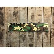 camouflage kentekenplaat met naam