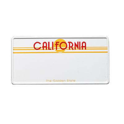 California kentekenplaat met naam