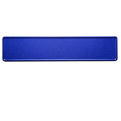 Blauw Glitter / Flake kentekenplaat met naam
