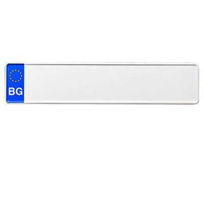 Bulgarije EU kentekenplaat met naamv