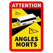 Attention Sticker BUS