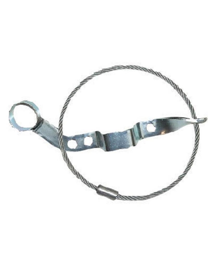 Hulpkoppeling Staalkabel met houder voor stekker