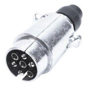 Stekker 7-polig metaal