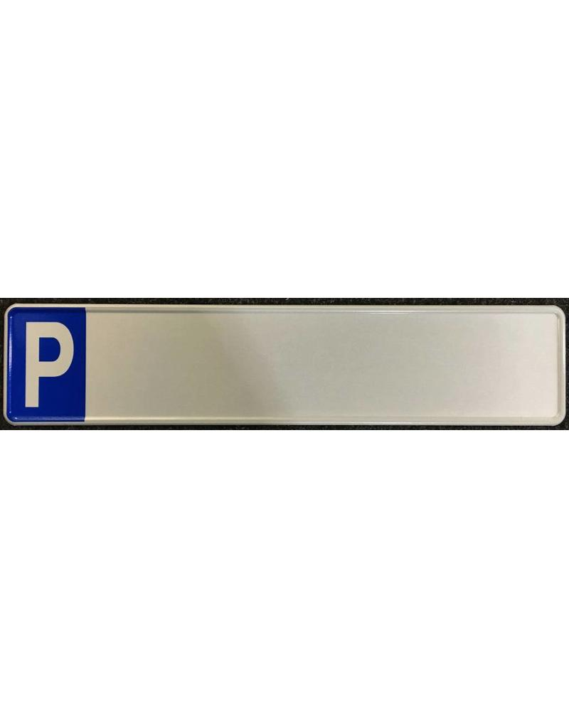 Parkeer Kentekenplaat