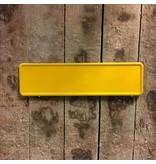 Midi Kentekenplaat Geel 34x9