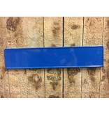 Kobalt / Middel Blauwe kentekenplaat met naam