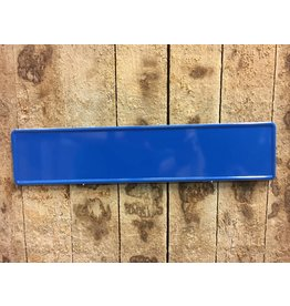 Kentekenplaat Kobalt / Middel Blauw