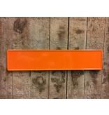 Kentekenplaat Oranje