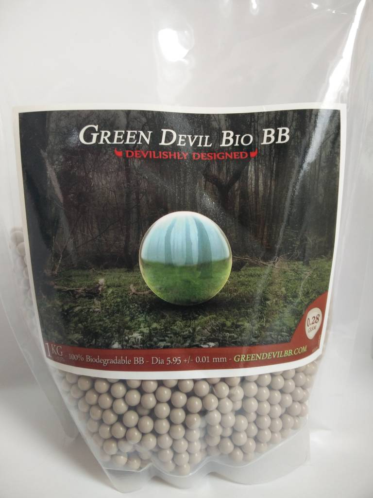 Green Devil Green Devil 0.28g - 3600 bio bb's
