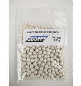 Geoffs Geoffs Super Natural Precision 0.43g - 500 bio bb's