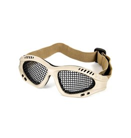 Phantom Mesh glasses tan