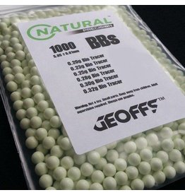 Geoffs Natural Precision 0.25 BIO 1000 Tracer BB's