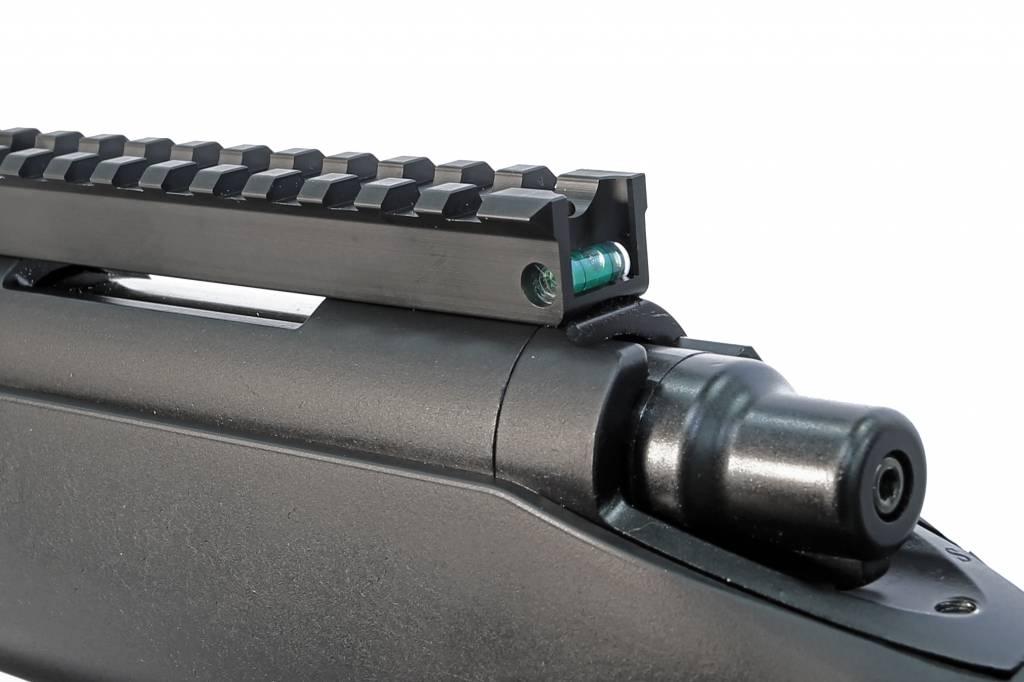 Maple Leaf Maple Leaf VSR scope rail met blauwe waterpas