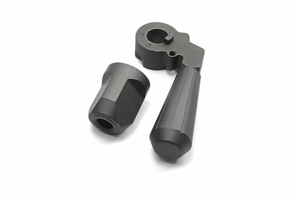 Maple Leaf Maple Leaf steel VSR-bolt handle + endcap - rechts