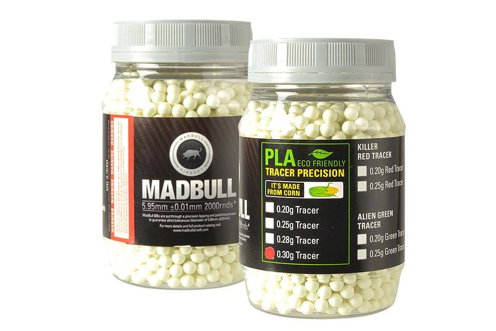 Madbull Madbull 0.30g - 2000 bio tracer bb's