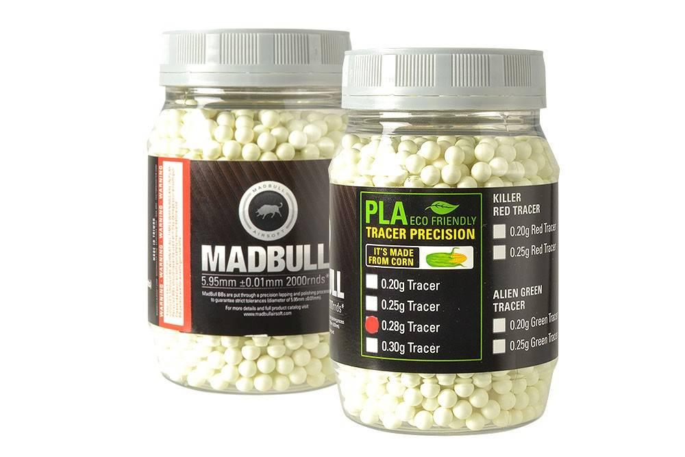 Madbull Madbull 0.28g - 2000 bio tracer bb's