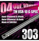 PDI PDI 6.04 303mm VSR10 bridged barrel (10mm outer diameter)